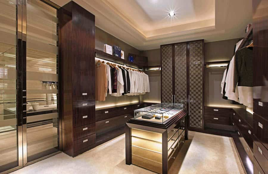 vestidores modernos interior design