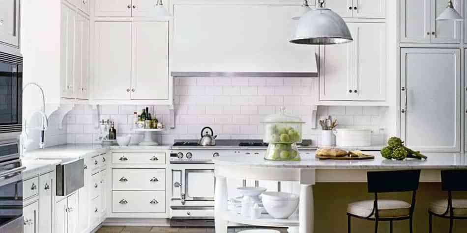 3 estilos de cocinas en blanco que te van a encandilar