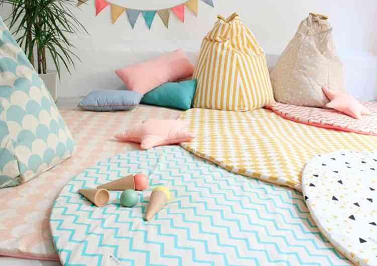 Ideas para decorar las habitaciones infantiles con - Alfombras ninos lavables ...