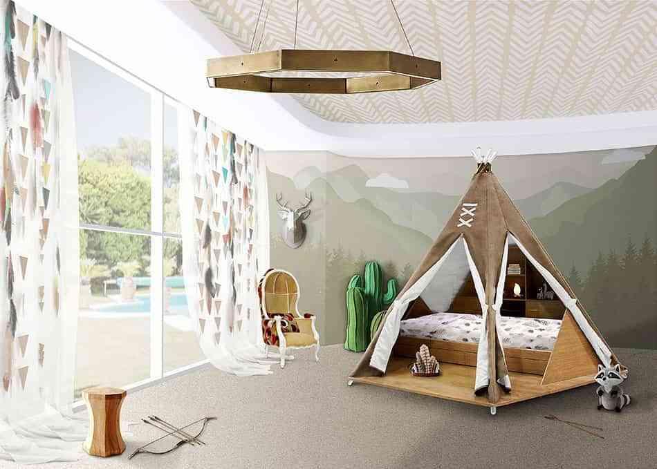 4 ideas geniales para decorar una habitaci n infantil original for Habitacion infantil original