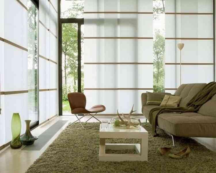 paneles japoneses en casa