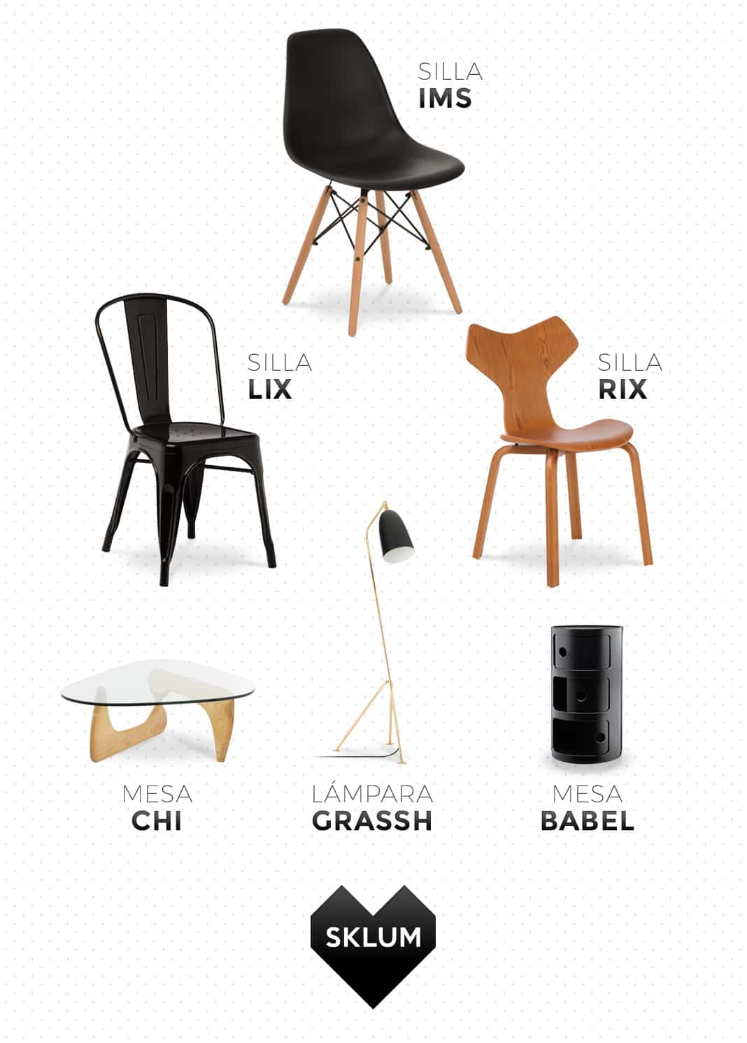 Llega sklum la marca de muebles de dise o de inspiraci n - Sklum muebles ...