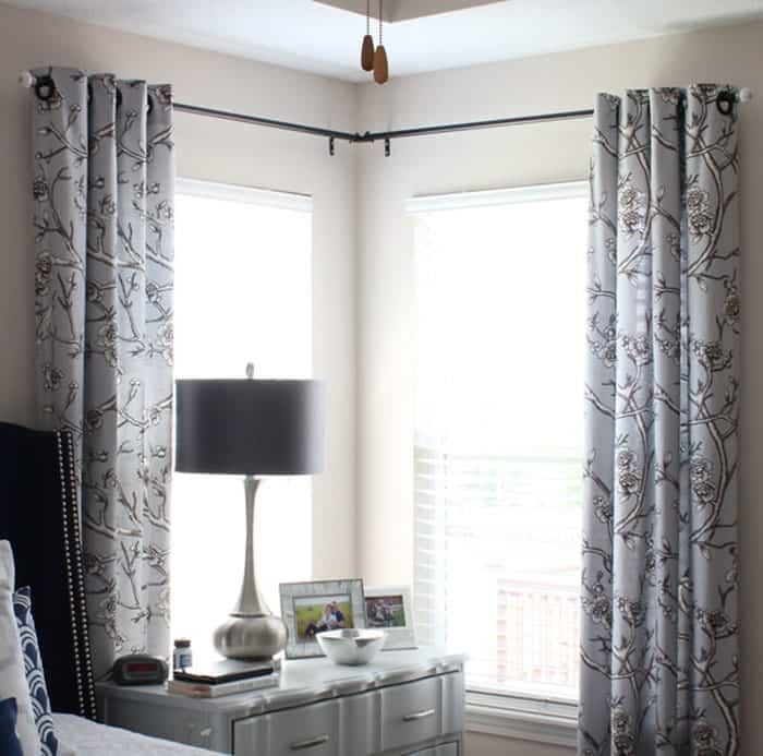 3 sistemas diferentes y pr cticos para colgar cortinas en casa - Formas de cortinas ...