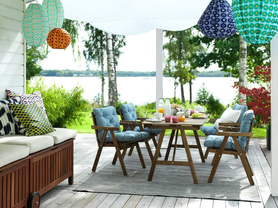 la terraza ideal ikea