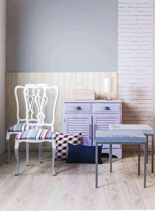 descubre c mo pintar muebles de madera con milk paint
