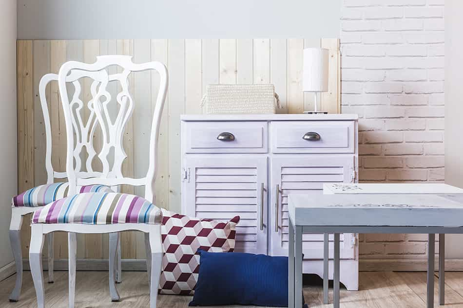 Descubre cómo pintar muebles de madera con milk paint