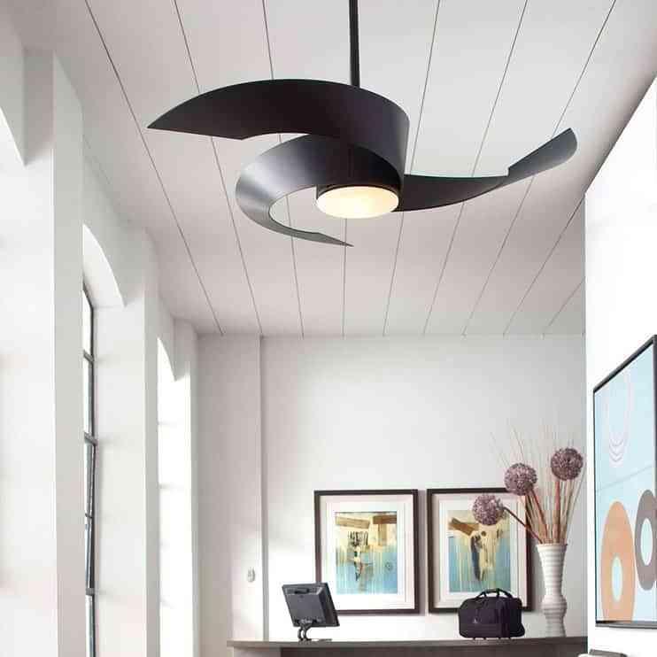 Prepara tu casa para el verano con un ventilador de techo - Lamparas de techo con ventilador ...