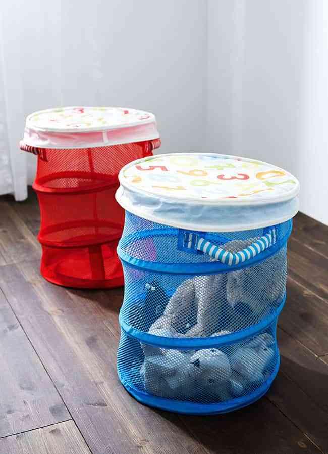 Ideas geniales para guardar los juguetes en el cuarto de los peques - Almacenaje para ninos ...