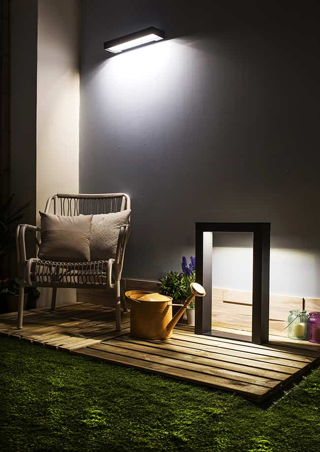 Claves para elegir la mejor iluminaci n solar para el for Iluminacion terraza