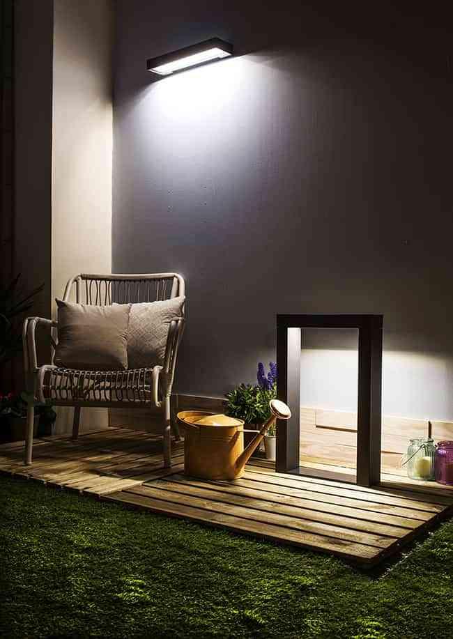 Chill decoraci n claves para elegir la mejor iluminaci n for Iluminacion para jardines energia solar