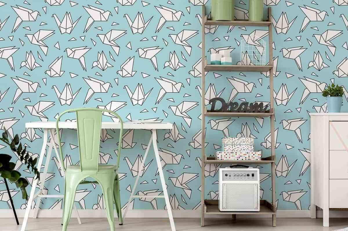 las pajaritas que habr creado de pequeo con papel y ahora es posible tenerlas en la pared de nuestra casa creo que es ideal para dar un toque especial a