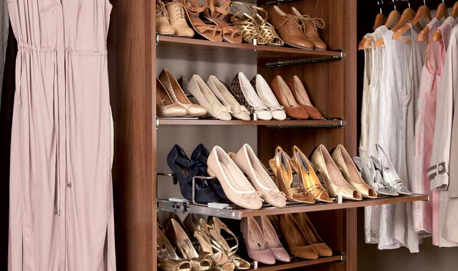 5 zapateros para armarios para mantener el calzado en orden