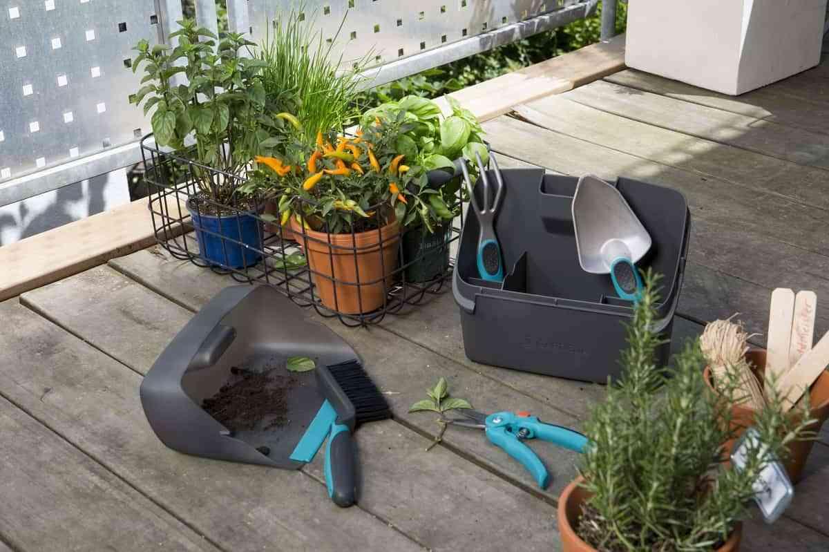 Crea jardines en cualquier lugar de tu casa con la gama de productos City Gardening de Gardena