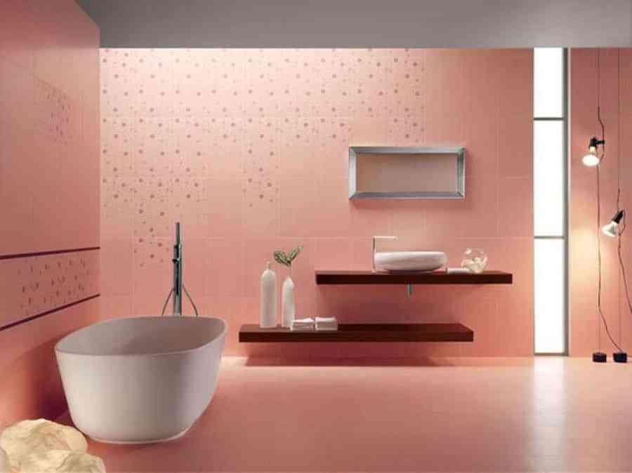 El encanto de tener un cuarto de ba o de color rosa for Bano de color mercadona