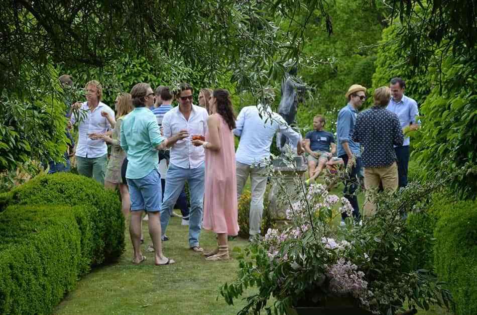 fiesta al aire libre cornwell manor