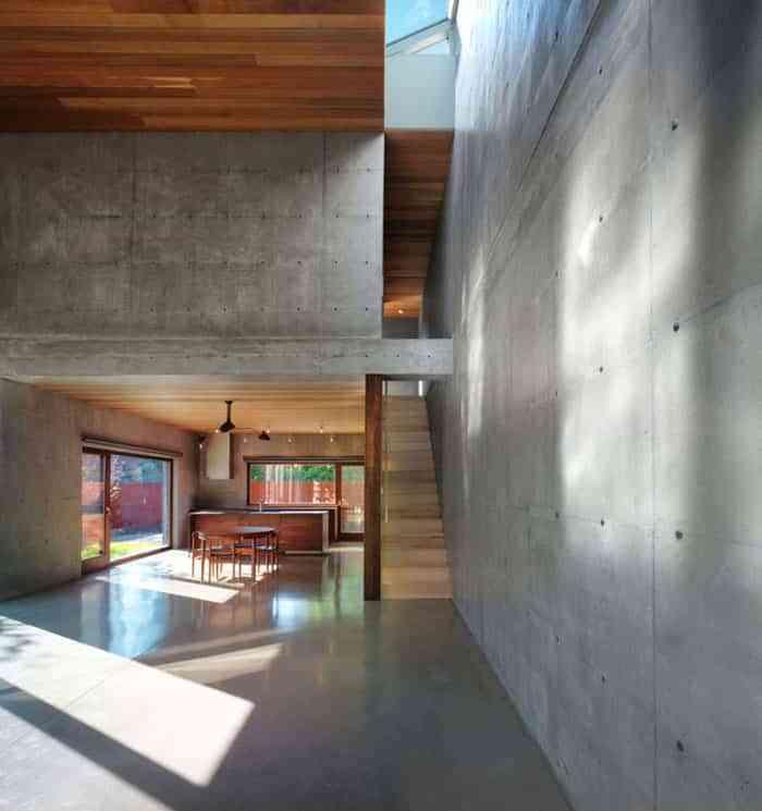 Ideas y materiales diferentes y decorativos para revestir for Pared cemento pulido