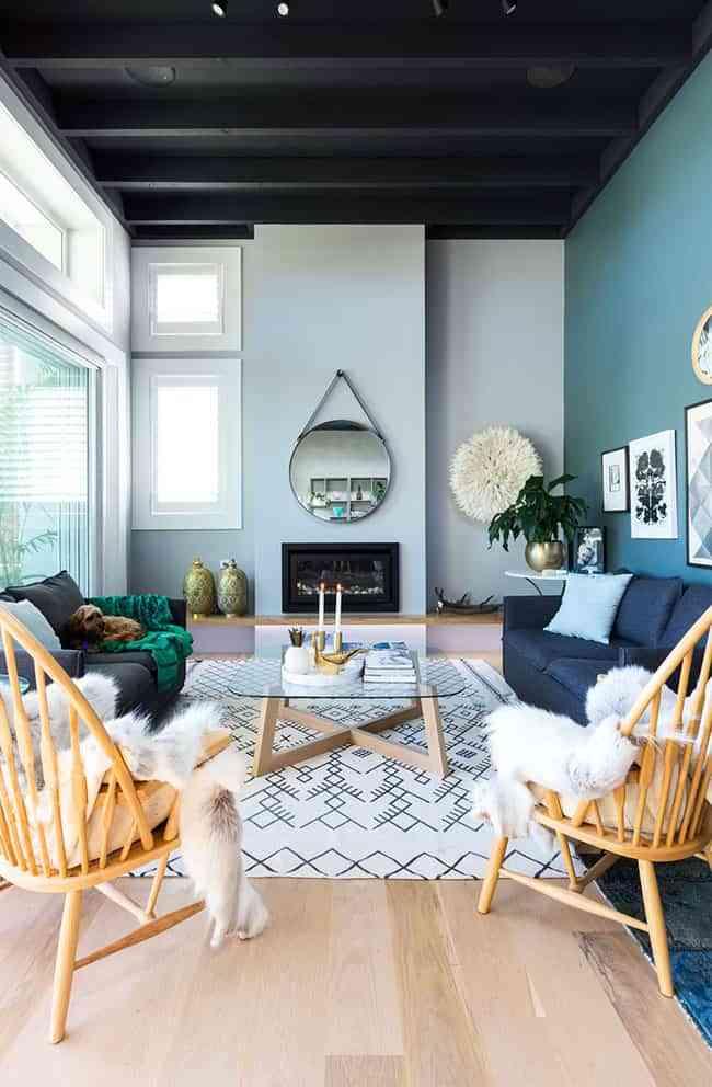 Elige el color azul para decorar tu casa y triunfarás seguro