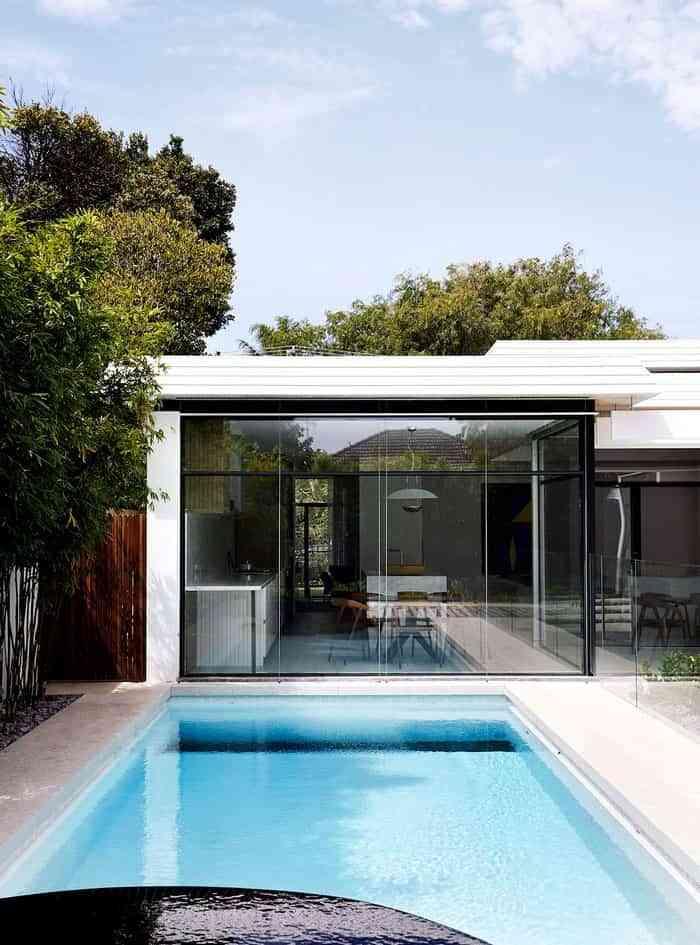 estilo mid-century modern casa Melbourne