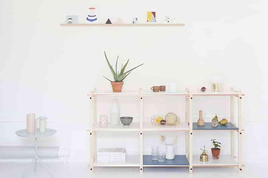 Diy 2 estanter as para guardar cosas peque as hechas con - Estanterias pequenas de madera ...