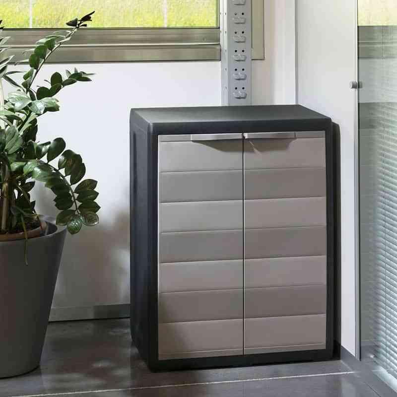 M s espacio para guardar con los armarios de resina modulares for Armarios baratos para trasteros