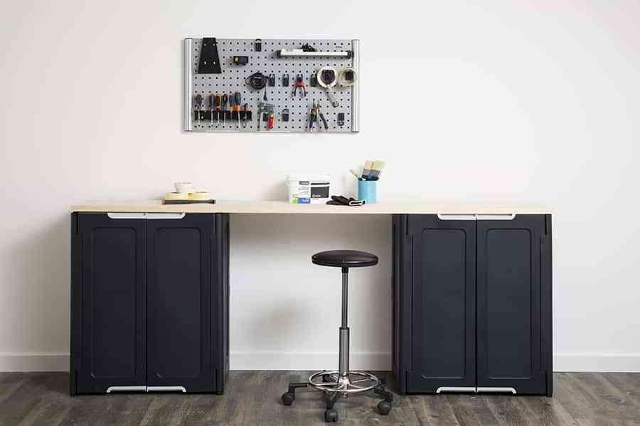 Chill decoraci n m s espacio para guardar con los - Leroy merlin armarios de resina ...