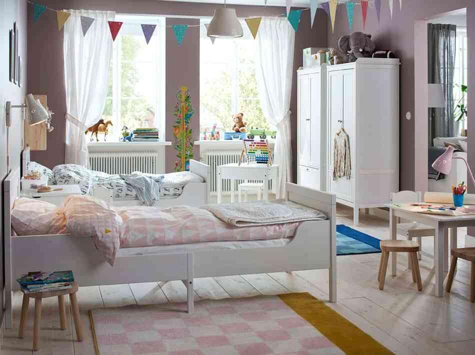 10 habitaciones para ni as que ya no son beb s y que les for Habitaciones para 2 ninas