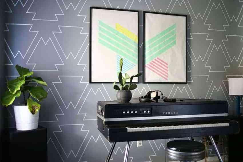 Descubre Una Idea Genial Para Decorar Las Paredes Con Dibujos Diy - Dibujos-decorar-paredes