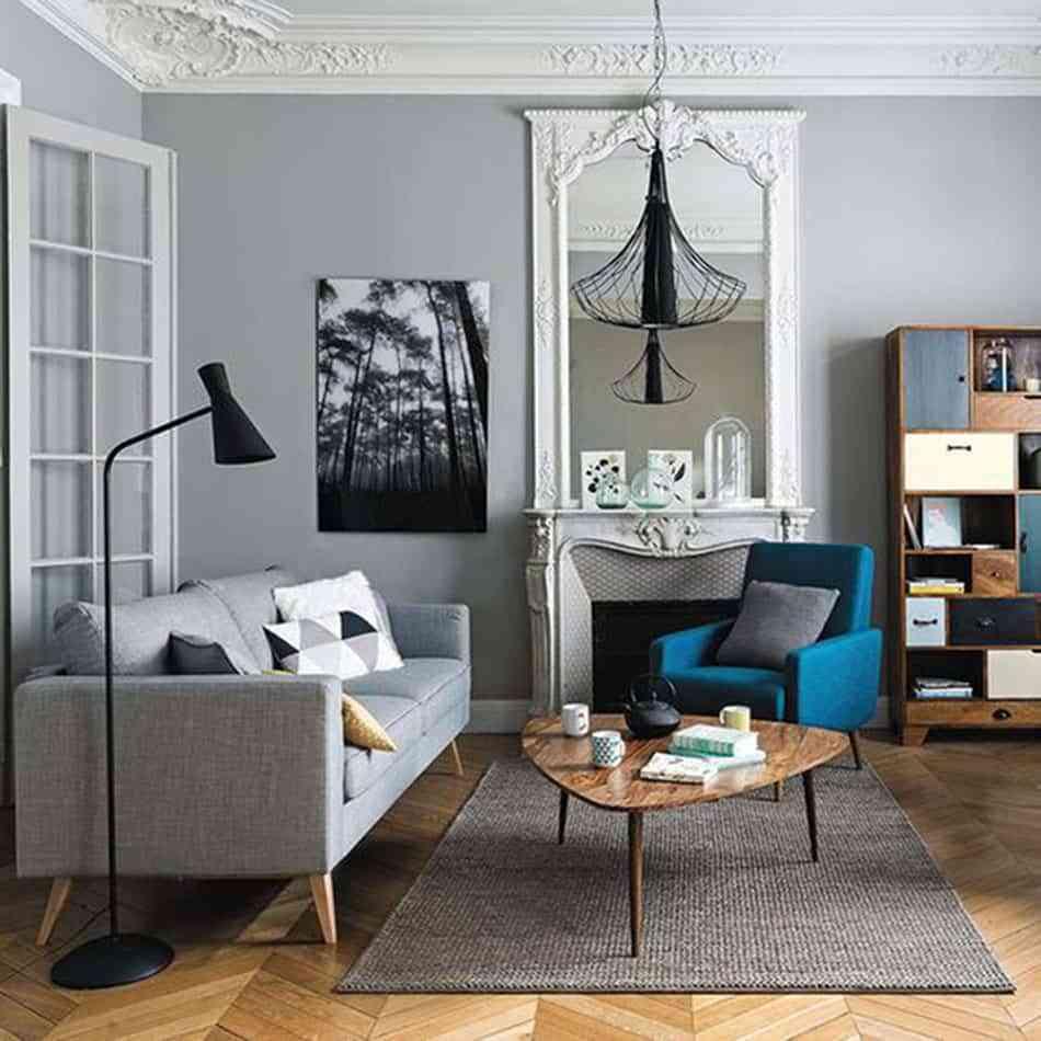 Ideas irresistibles para renovar techos y paredes con molduras - Decoraciones para techos ...