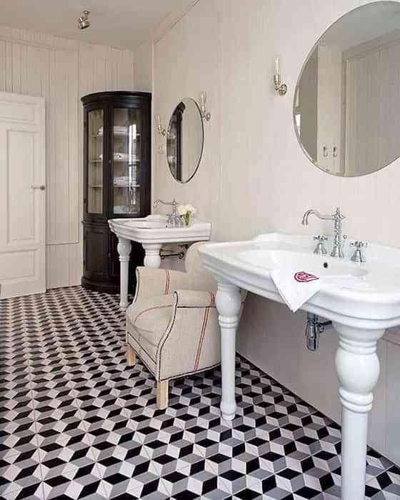 Dar un aire vintage a la casa con baldosas hidr ulicas - Piastrelle geometriche cucina ...