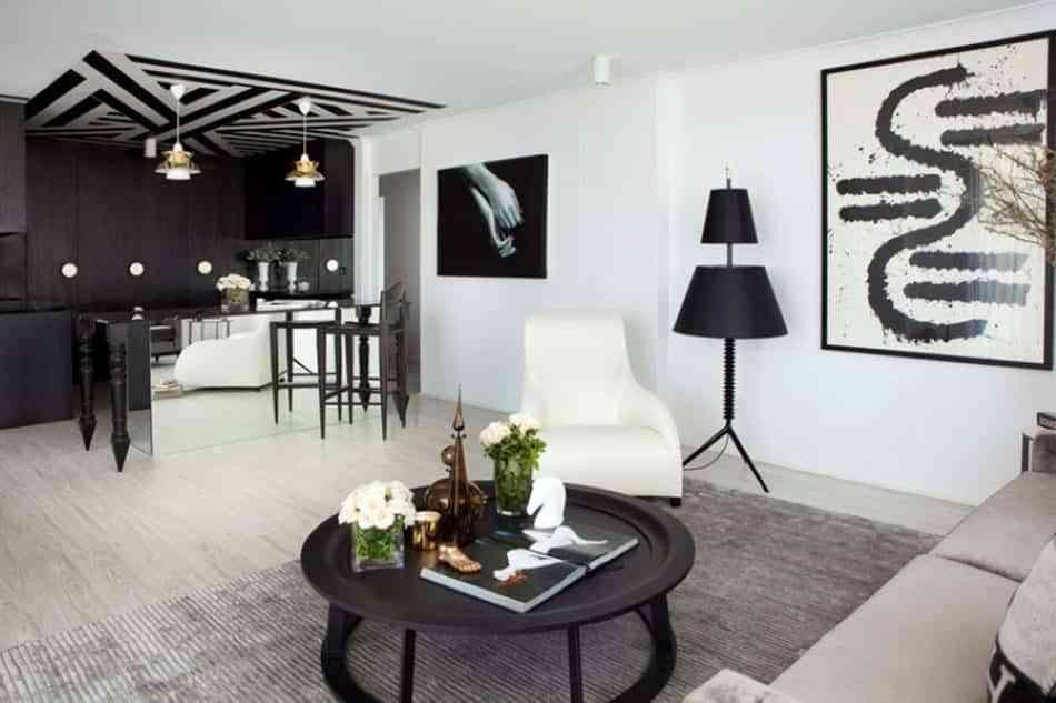 decorar en negro la casa