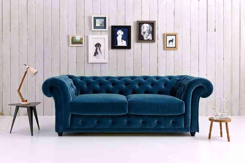 elegir un sofá con curvas para tu salón