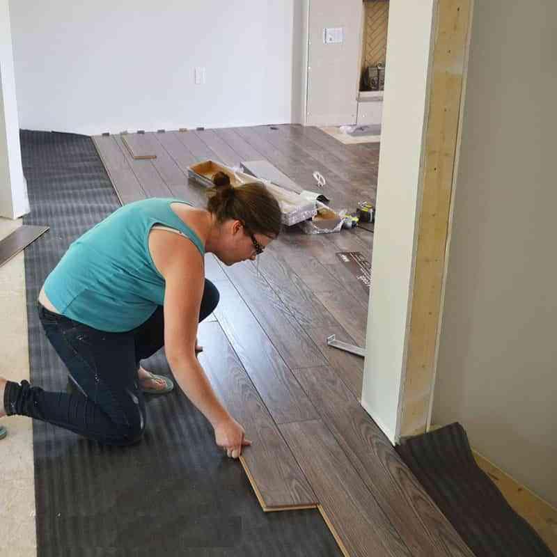 Suelo laminado segunda mano trendy piso laminado - Como instalar suelo laminado ...