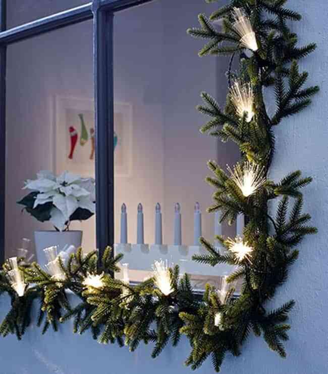 Luces de fantas a para iluminar el exterior de casa en navidad - Luces exterior ikea ...