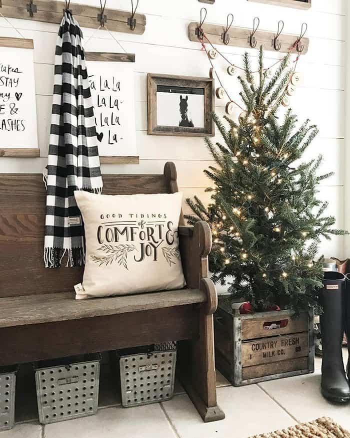 6 ideas para decorar la casa al estilo campero y vivir una Navidad rústica