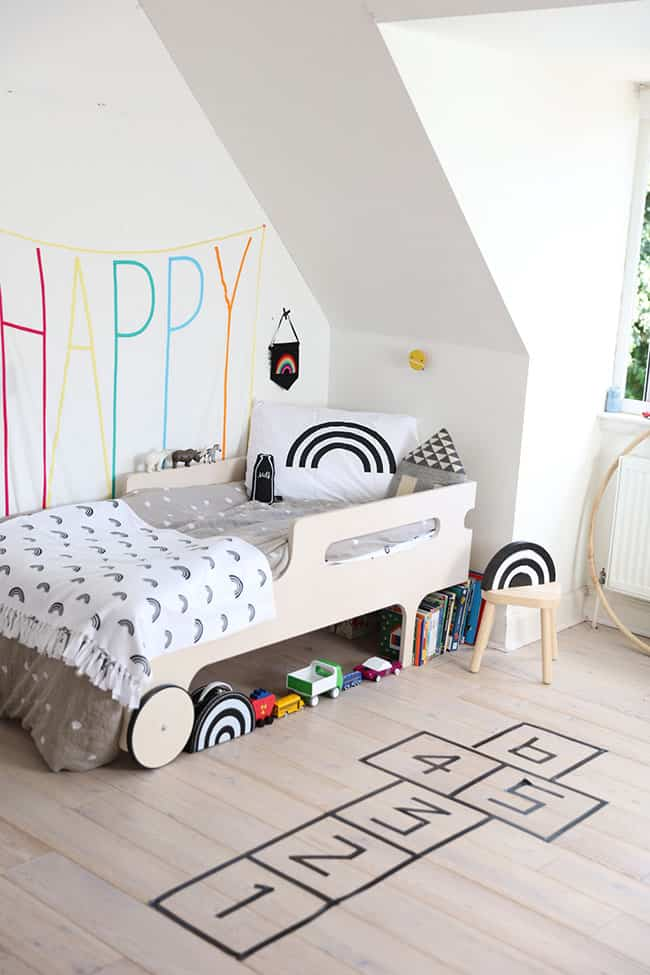 5 ideas para decorar habitaciones infantiles con washi tape for Amueblar habitacion infantil