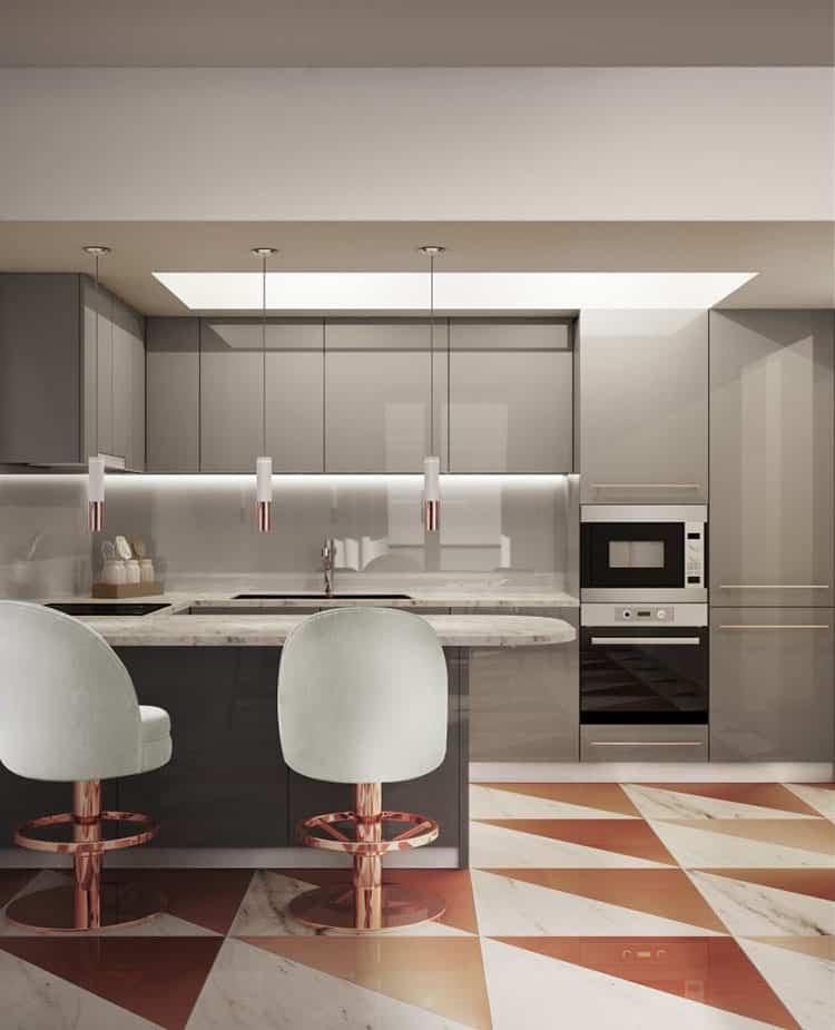 5 estilos diferentes de taburetes altos de cocina que te encantar n - Taburetes altos cocina ...