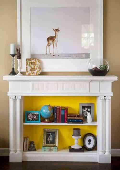 Al calor del hogar: 7 chimeneas falsas para decorar tu salón