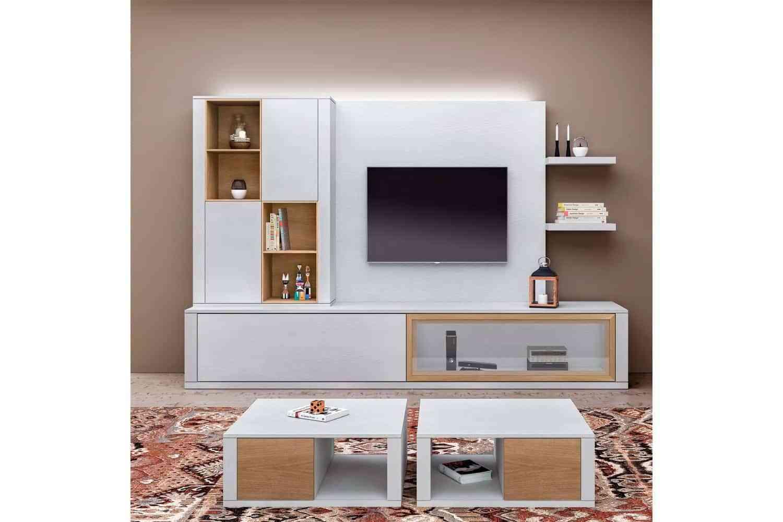 Composiciones modulares para conseguir un sal n moderno - Lo ultimo en muebles de salon ...