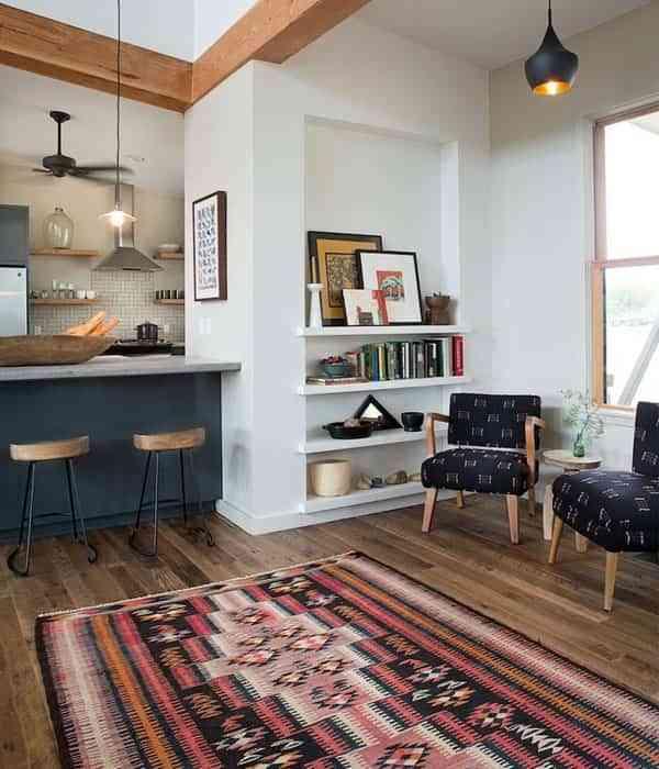 Ideas para decorar tu casa con kilims y llenar los espacios de color