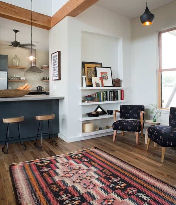 decorar tu casa con kilims