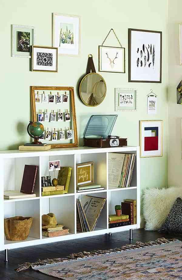 6 ideas geniales para personalizar tu galería de cuadros en casa