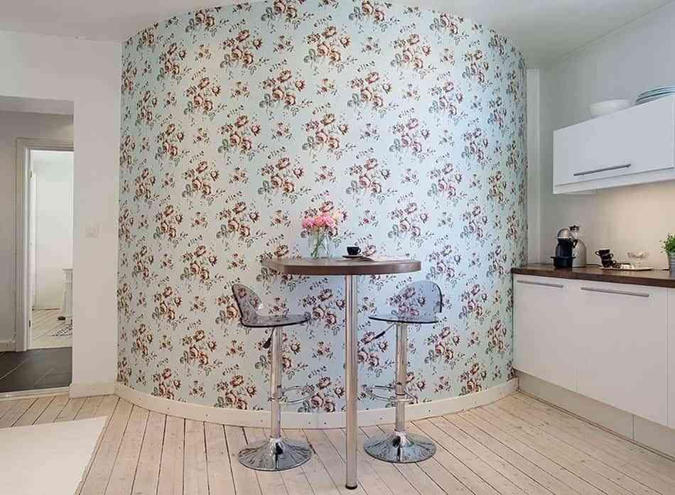 Propuestas low cost para renovar la cocina con papel pintado - Papel vinilico para cocina ...