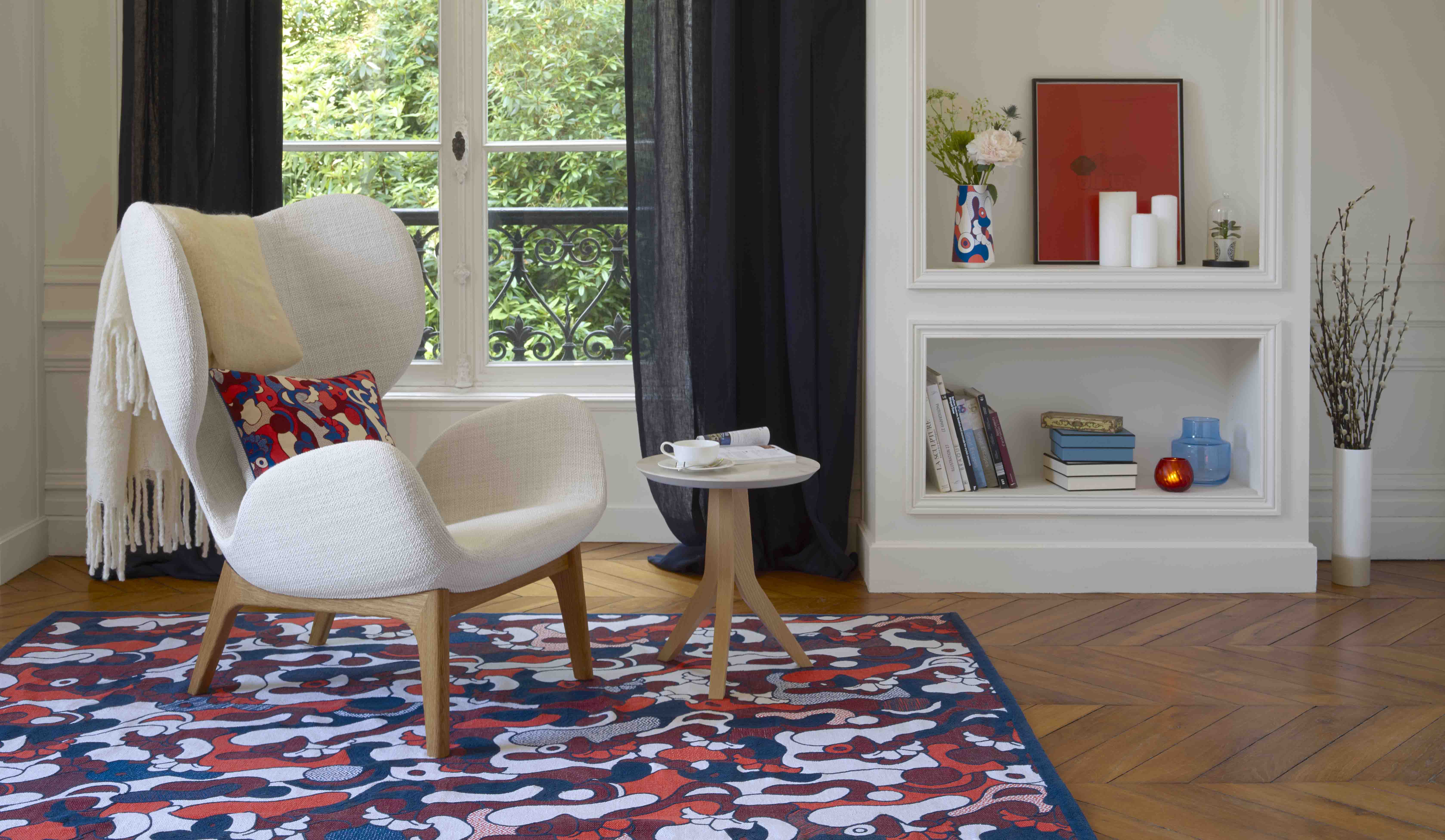 El talento más joven inunda de color los textiles de Habitat