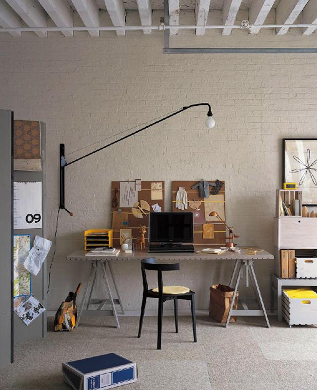 espacios de trabajo hogareños