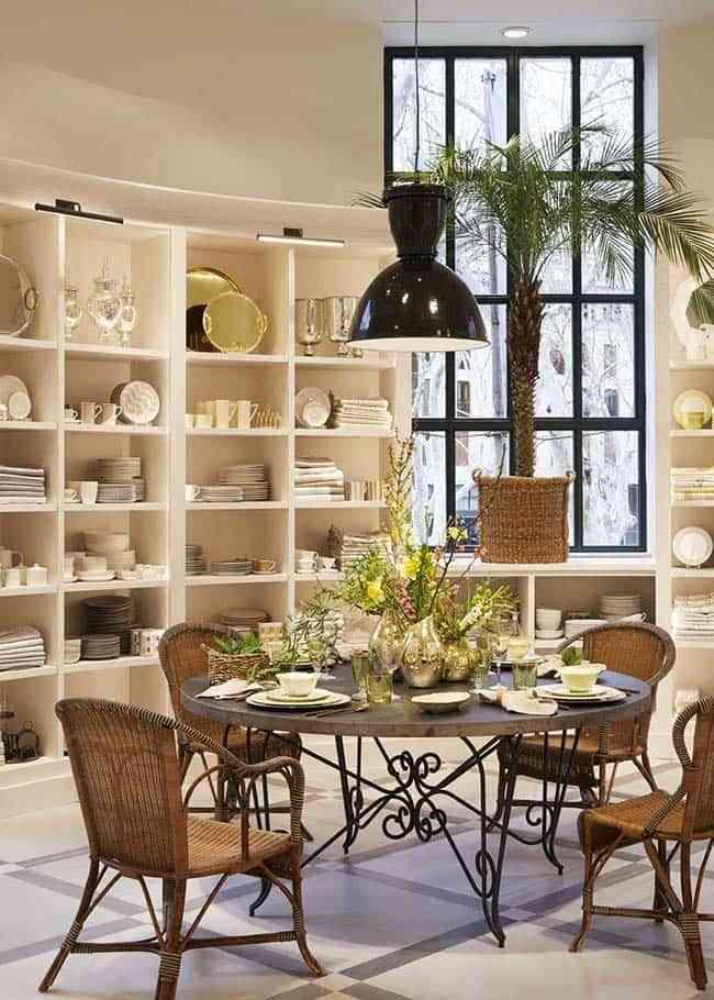 Descubre la nueva tienda de zara home en palma de mallorca for Comedor zara home