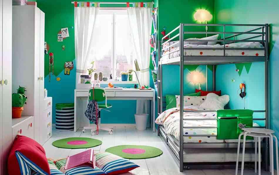 Todas las claves para elegir las telas para el cuarto de - Ikea mobiliario para ninos ...