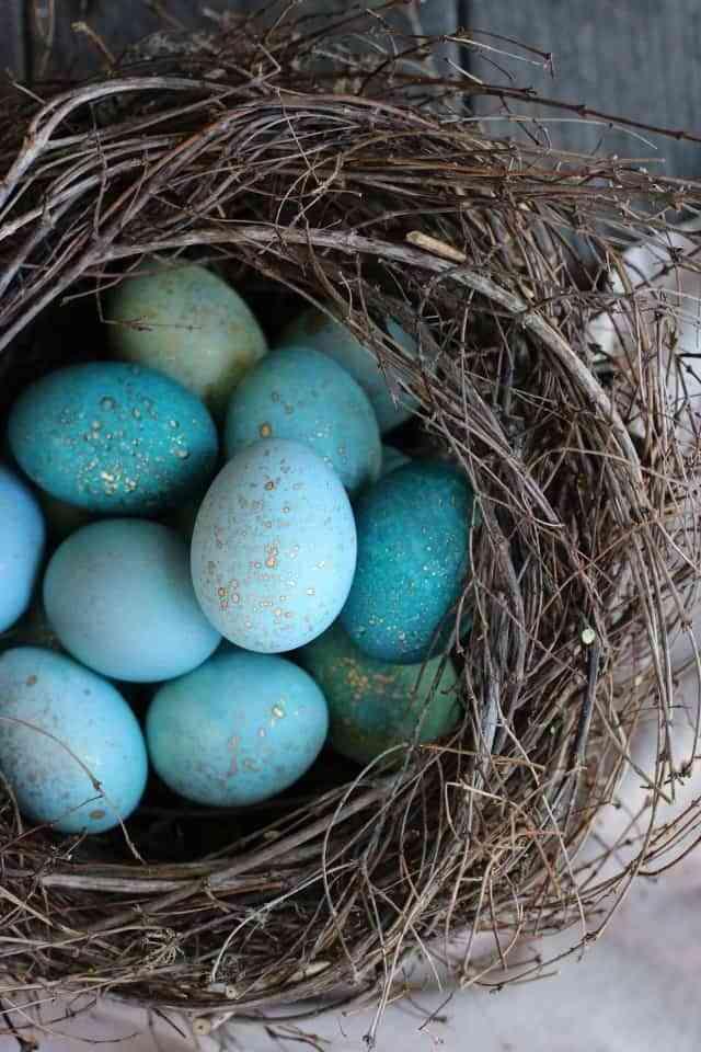 Aprende a teñir huevos de Pascua con colorantes naturales