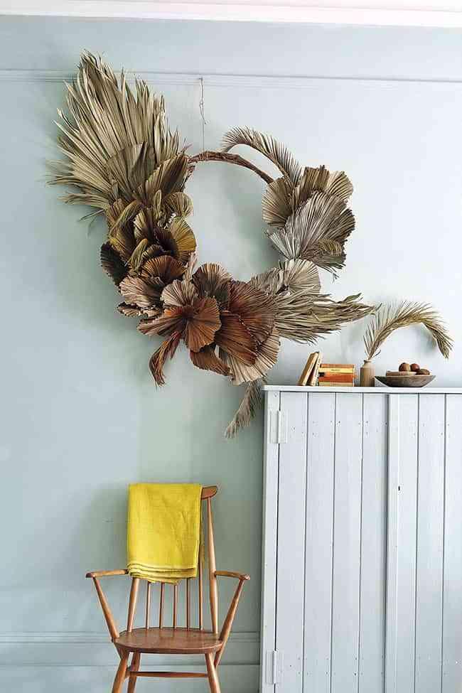 Ideas Modernas Y Especiales Para Decorar Tu Casa Con Flores Secas - Decorar-con-flores-secas