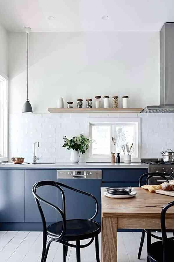 Trucos que funcionan para pintar las paredes de la cocina