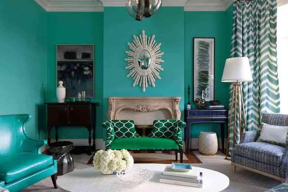 tonos verdes